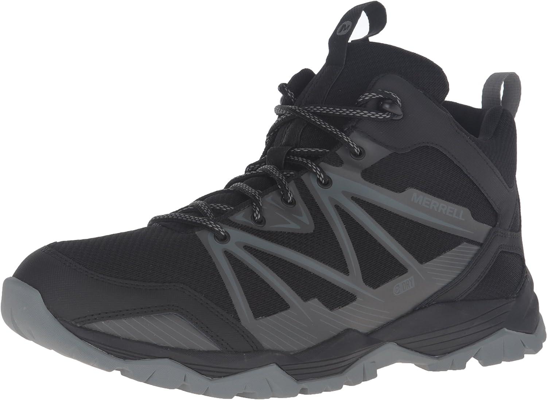 Merrell Capra Rise Mid Vattensäker Trail Hiking Boots Boots Boots 10.5 Svart  mode galleria