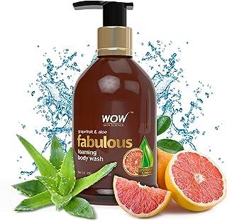 WOW Grapefruit & Aloe No Parabens & Sulphates Shower Gel, 300mL