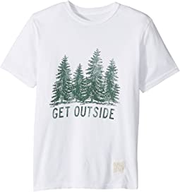 Get Outside Short Sleeve Vintage Cotton Tee (Big Kids)