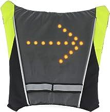 iHuniu LED Turn Signal Light Reflective Vest Backpack/Waist Pack/Business/Travel/Laptop/School Bag Sport Outdoor Waterproo...