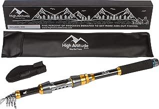 High Altitude Brands Lightweight Portable Telescopic...