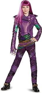 Disguise Mal Prestige Descendants 2 Costume Small (4-6X) Purple