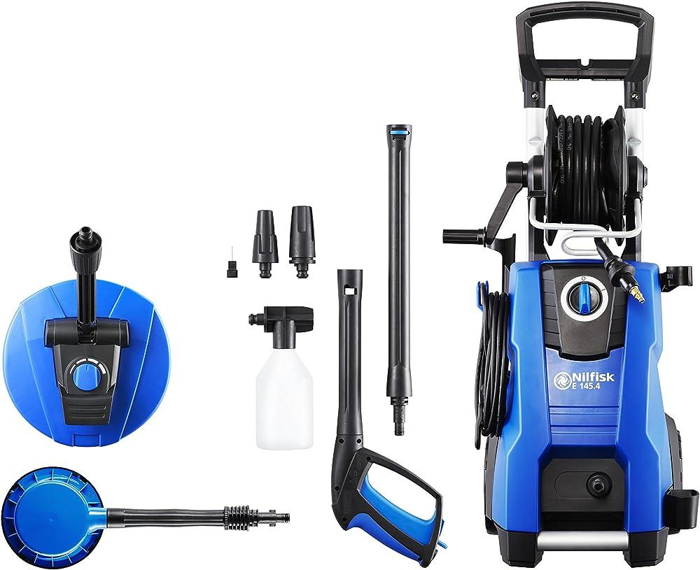 Nilfisk 128471189 E 145.4-9 PA X- tra Hidrolimpiadora de Agua a Presión, 2100 W, 230 V, Azul