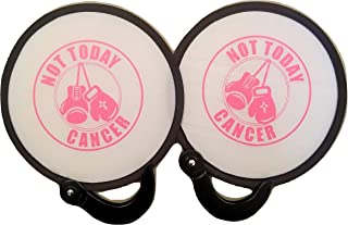 2pc Not Today Cancer Folding Purse Fans Pop Up for Hot Flash Divas