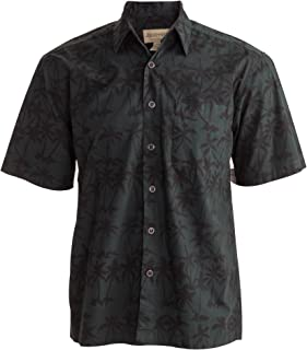 Cool Nights Tropical Hawaiian Batik Cotton Shirt