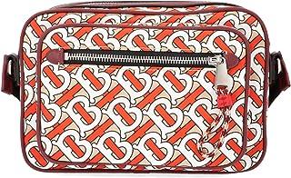 Burberry Men's 8011677 Red Leather Shoulder Bag