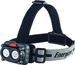 Energizer Magneet hoofdlamp, 2 witte leds, verschillende modi, magnetische houder, hoofdband met draaimodule, 3 stuks AAA