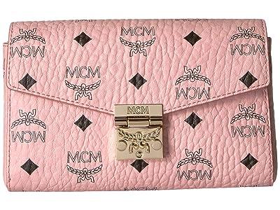 MCM Patricia Visetos Belt Bag Small (Soft Pink) Handbags