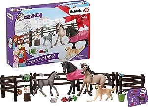 SCHLEICH 97875 Horse Club 2019 Adventskalender, Mehrfarbig