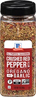 McCormick Crushed Red Pepper with Oregano and Garlic All Purpose Seasoning, 12 oz