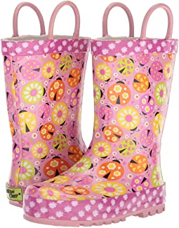 Western Chief Kids - Limited Edition Ladybug Garden Rain Boot (Toddler/Little Kid)