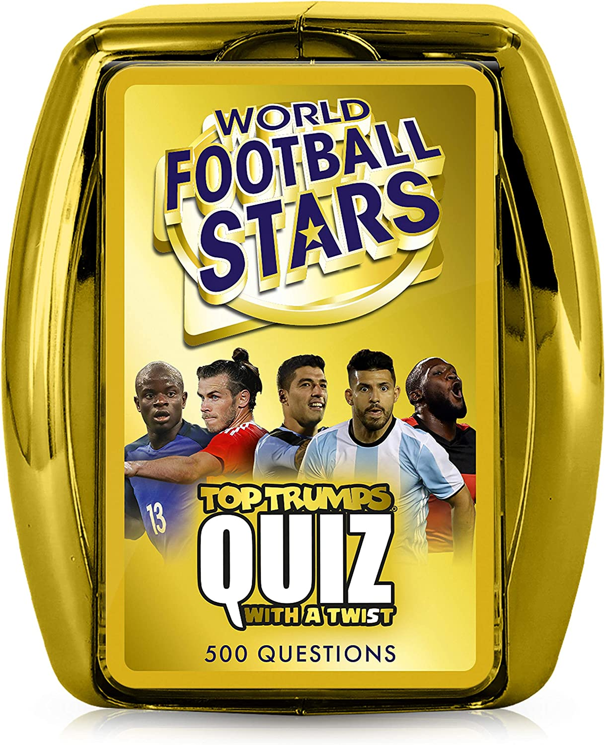 World Football Stars Top Luxury Game Beauty products Trumps Quiz