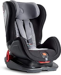 Silla de seguridad para niños Avionaut Glider Comfy | silla de coche grupo 1/2 (9kg-25kg, 60cm-125cm) | para niños de 9 meses a 7 años | Gris/Negro