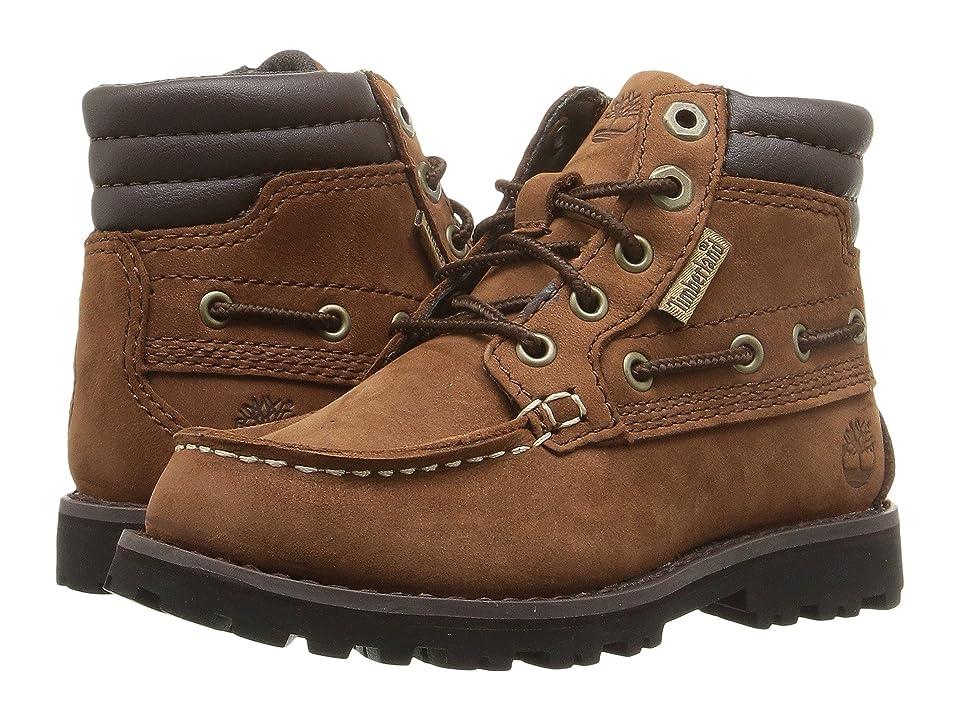 Timberland Kids Oakwell Boot (Toddler/Little Kid) (Medium Brown Nubuck) Kid