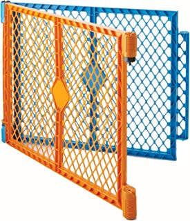"""North States 2-Panel Extension for Multicolor Superyard Colorplay or Superyard Colorplay Ultimate: Increases Play Space up to 34.4 sq. ft. (Adds 64"""", Multicolor)"""