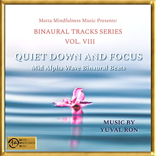 Quiet Down & Focus: Mid Alpha Wave Binaural Beats