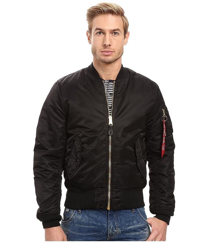 wspaniały wygląd przemyślenia na temat sklep dyskontowy MA-1 Slim Fit Flight Jacket