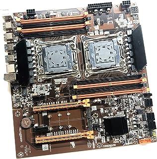 gazechimp X99 Dual CPU Motherboard LGA 2011 v3 E-ATX USB3.0 SATA3 com Dual Xeon Processador com Dual Slot DIMM 8 M.2 DDR4 ...
