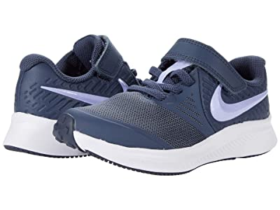 Nike Kids Star Runner 2 (Little Kid) (Thunder Blue/Purple Pulse/Fireberry) Kids Shoes