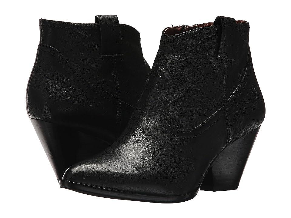 Frye Reina Bootie (Black 1) Cowboy Boots