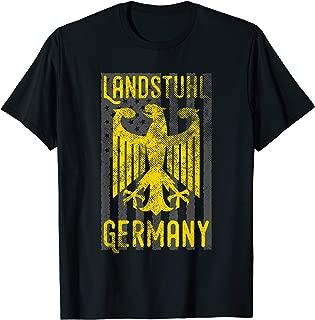 German Military Base German Eagle American Flag Landstuhl T-Shirt