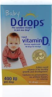 Baby Ddrops 400 IU 90 drops (pack of 24)
