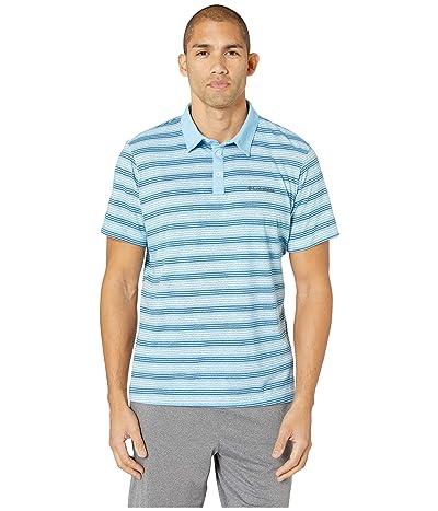 Columbia Thistletown Parktm Polo (Blue Sky Multi Stripe) Men