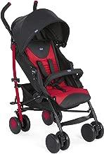 Chicco Echo  Silla de paseo, ligera y compacta, soporta hasta 22kg, color rojo