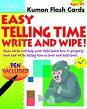 Easy Telling Time: Write and Wipe! (Kumon Flash Cards)