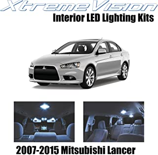 XtremeVision Interior LED for Mitsubishi Evo Lancer 2007-2015 (8 Pieces) Cool White Interior LED Kit + Installation Tool