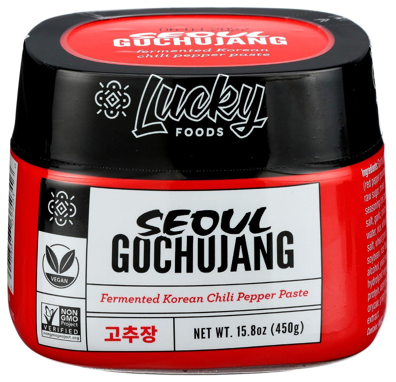 LUCKY FOODS Seoul Gochujang Chili Paste, 15.8 OZ