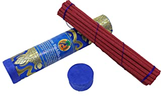 Tibetan Incense Sticks ~ Hand Rolled Medicine Buddha Incense Made from Organic Himalayan Herbs for Healing (Medicine Buddha)