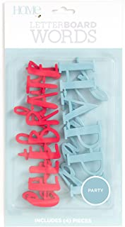 DCWVE Die Cuts with A View Word Pack Letterboard-Celebration (4 Pieces) LP-006-00021, Other