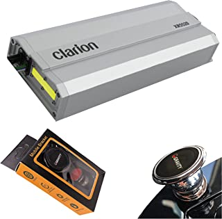 $164 » Clarion XR5520 Class D 5-Channel 800W Maximum Power Handling Car Audio Amplifier Sound System Subwoofer Speaker Amp with G...