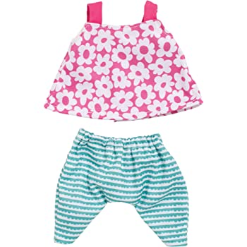 "Manhattan Toy Wee Baby Stella A Day At The Park 12"" Baby Doll Clothing Set"