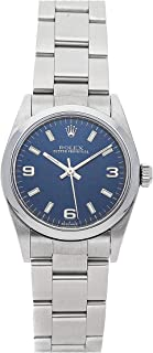 Oyster Perpetual Mechanical (Automatic) Blue Dial Womens Watch 77080 (Certified Pre-Owned)