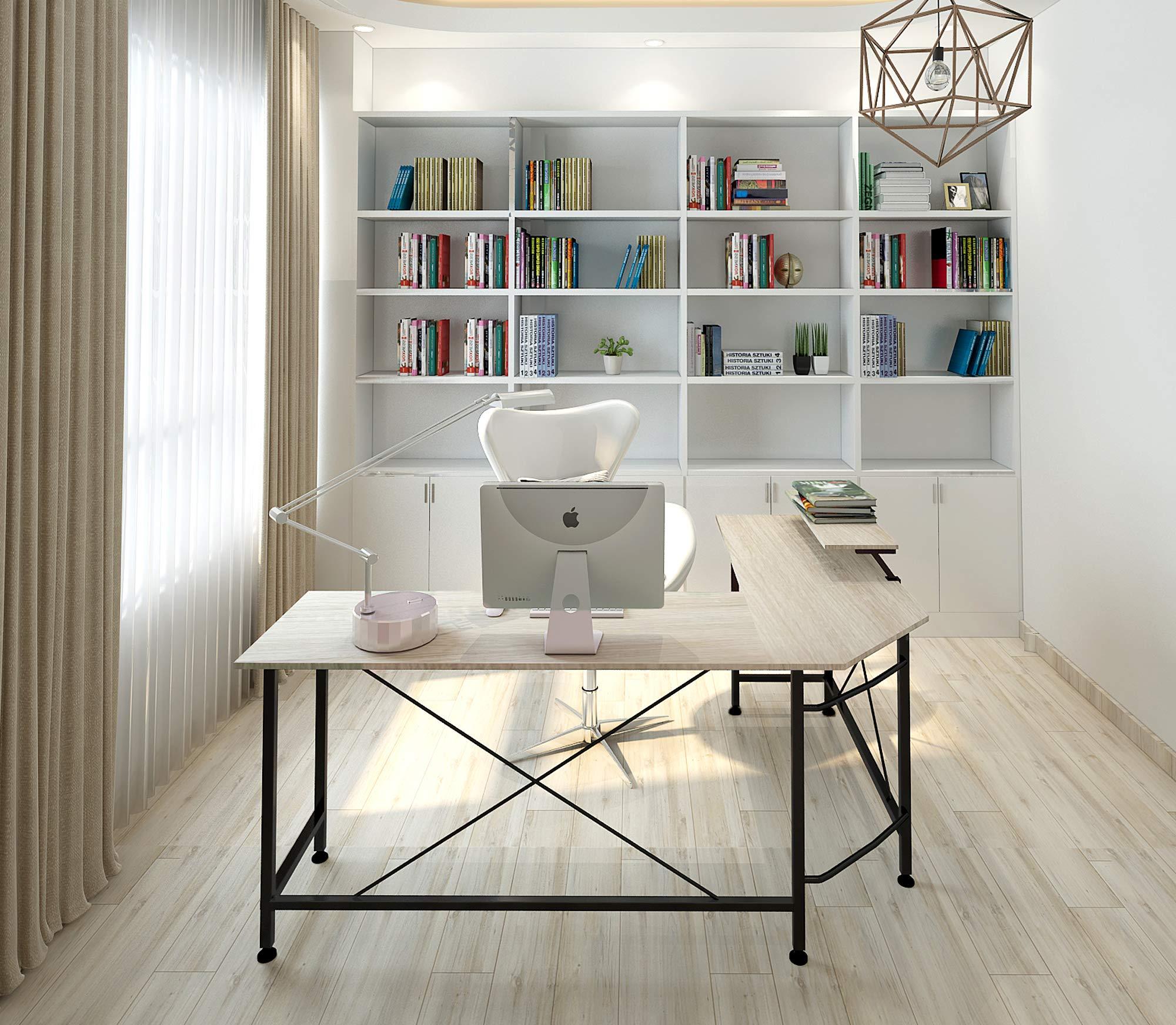 wrap around desk amazon com rh amazon com wrap around desks for computers wrap around desk with hutch