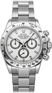 Daytona Mechanical (Automatic) White Dial Mens Watch 116520 (Certified Pre-Owned)