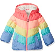 Girls' Perfect Colorblocked Heavyweight Jacket Coat
