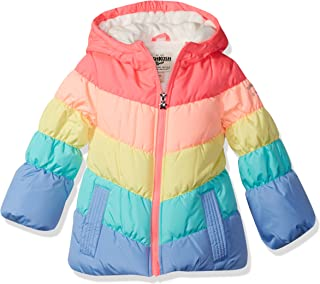 Girls' Perfect Colorblocked Heavyweight Jacket Coat