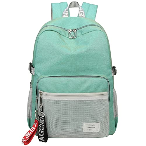 49c2f56b41 Mygreen Casual Style Lightweight Canvas Backpack School Bag Travel Daypack