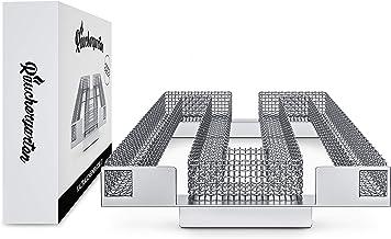 Räuchergarten Kaltrauchgenerator - Sparbrand Kaltraucherzeuger aus Edelstahl - für Kugelgrill, Smoker und Räucherofen LT 1