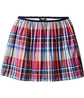 Polo Ralph Lauren Kids - Yarn-Dyed Poplin Plaid Skirt (Little Kids/Big Kids)