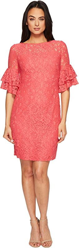LAUREN Ralph Lauren Marcelle Monte Carlo Lace Dress