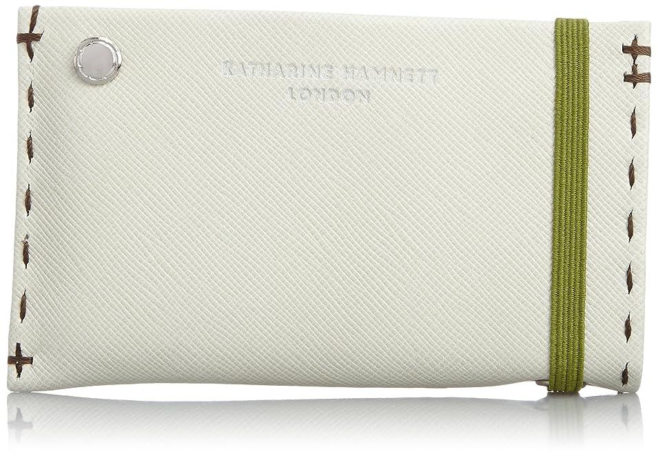 推進指人質[キャサリンハムネットロンドン] KATHARINE HAMNETT LONDON カードケース カラーテーラード カードケース(4枚スペア付)
