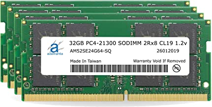 "Adamanta 128GB (4x32GB) Memory Upgrade for 2019 & 2020 Apple iMac 27"" (iMac 19,1 iMac 20,1 iMac 20,2) w/Retina 5K Display ..."