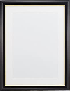 FUJICOLOR 額縁 肖像額 A3 木製 ブラック 405020 59560