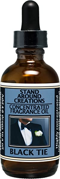 Premium Concentrated Fragrance Oil Scent Black Tie Sophisticated Notes Of Leather W Warm Woods Patchouli Musk Infused W Essential Oils 2 Fl Oz