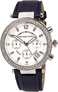 3b494dfafdfe Amazon.com  Michael Kors - Leather   Wrist Watches   Watches ...