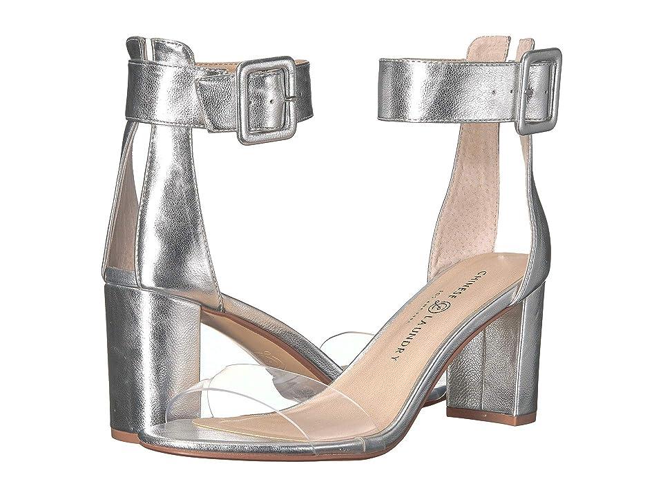 Chinese Laundry Reggie (Silver Metallic) High Heels